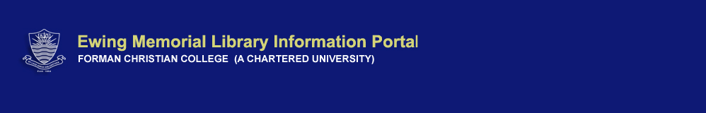 Ewing Library Information portal