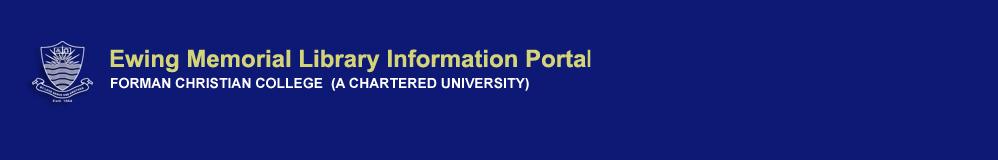Ewing Library Information portal